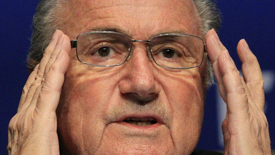 """Fifa-Präsident Blatter: """"Eine Demonstration der Kommunikationsherrschaft"""""""