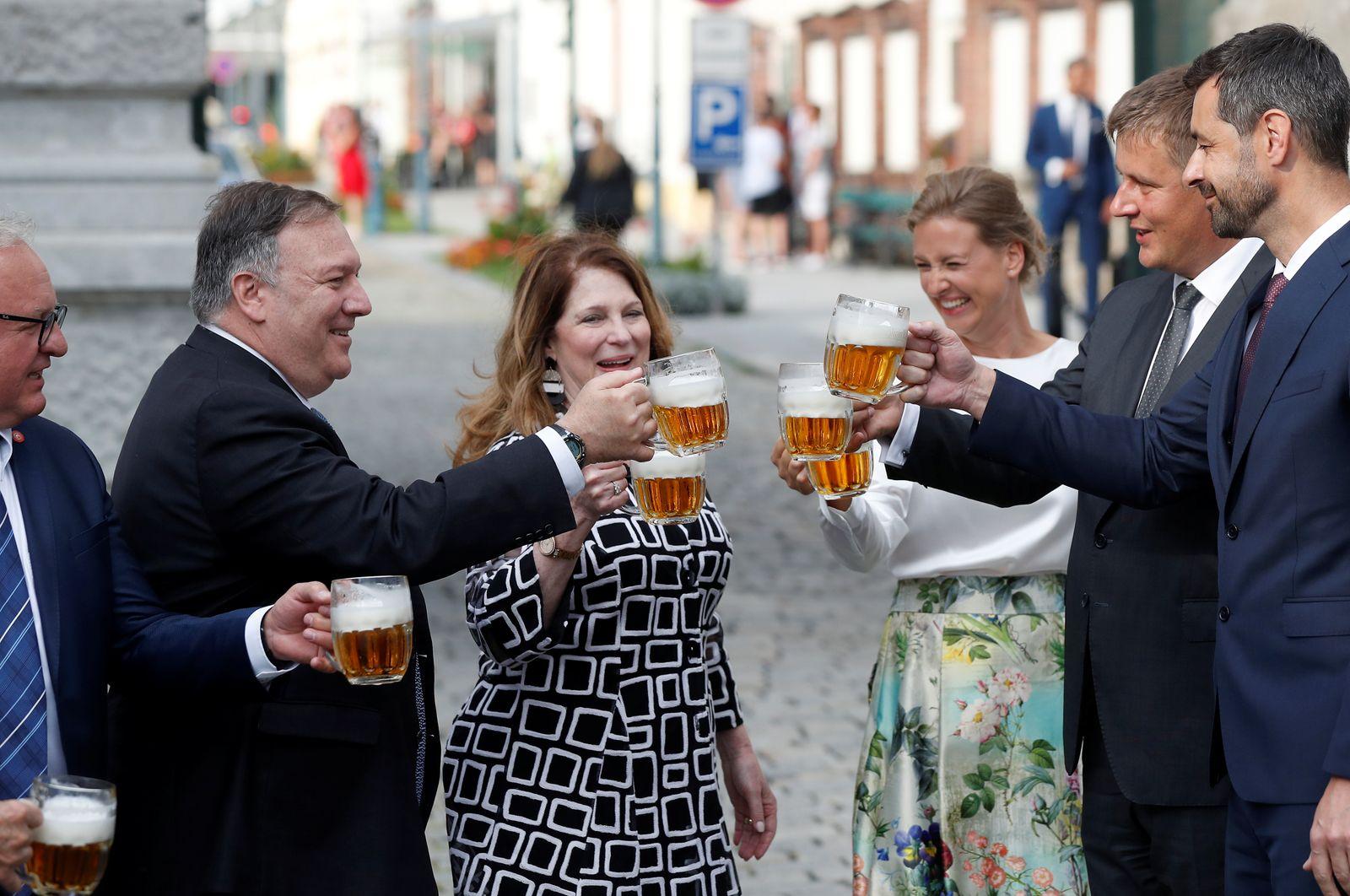 Secretary of State Pompeo visits Czech Republic
