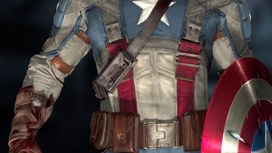 """Captain America"": Chris Evans als Superheld mit Retrocharme"