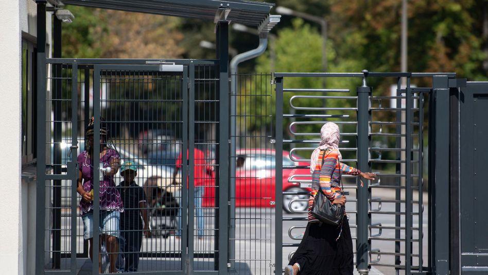 Asylsuchende im bayerischen Regensburg (Archivbild aus dem August 2018)