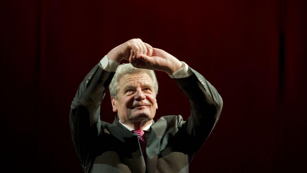 Joachim Gauck in Koblenz: Applaus für einen möglichen Wulff-Nachfolger