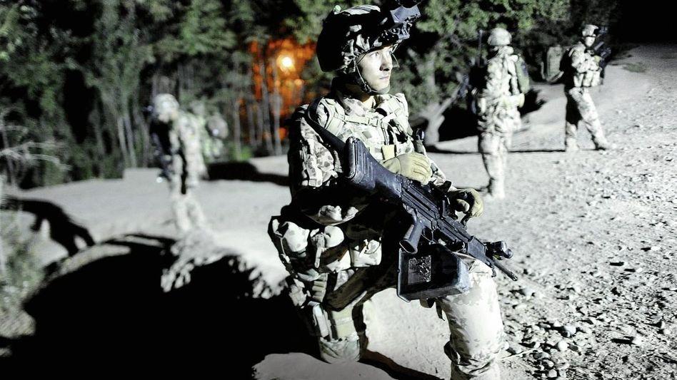 Patrouille nahe Kunduz