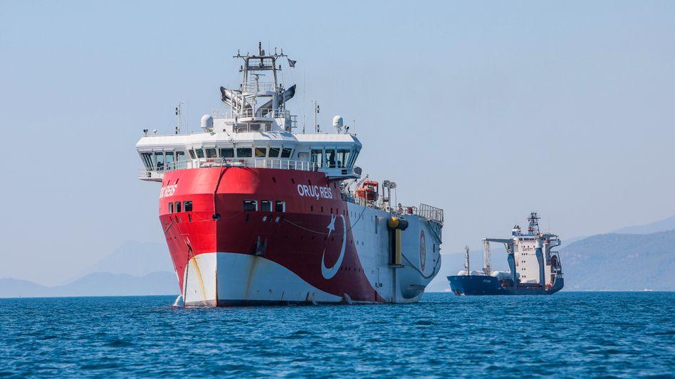 """Türkisches Forschungsschiff """"Oruc Reis"""": Die Kriegsgefahr wächst"""