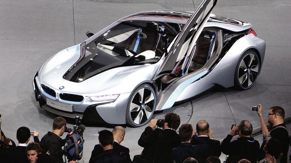Präsentation des BMW-Elektroautos i8: Die zweite Erfindung des Automobils?