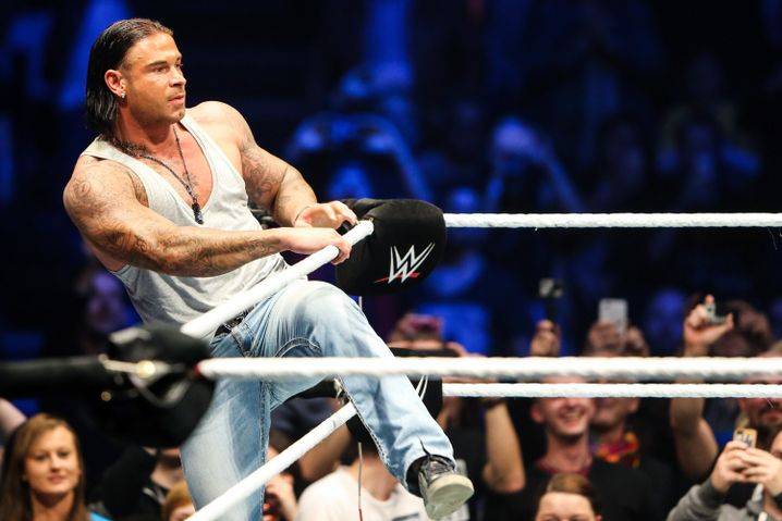 Tim Wiese beim WWE Live in Frankfurt