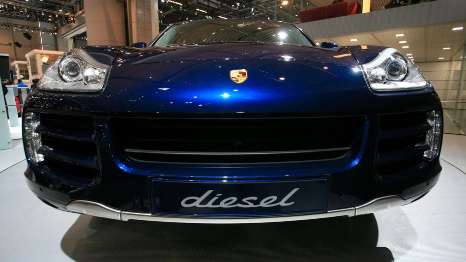 Porsche Cayenne Diesel auf dem Genfer Autosalon, 2009