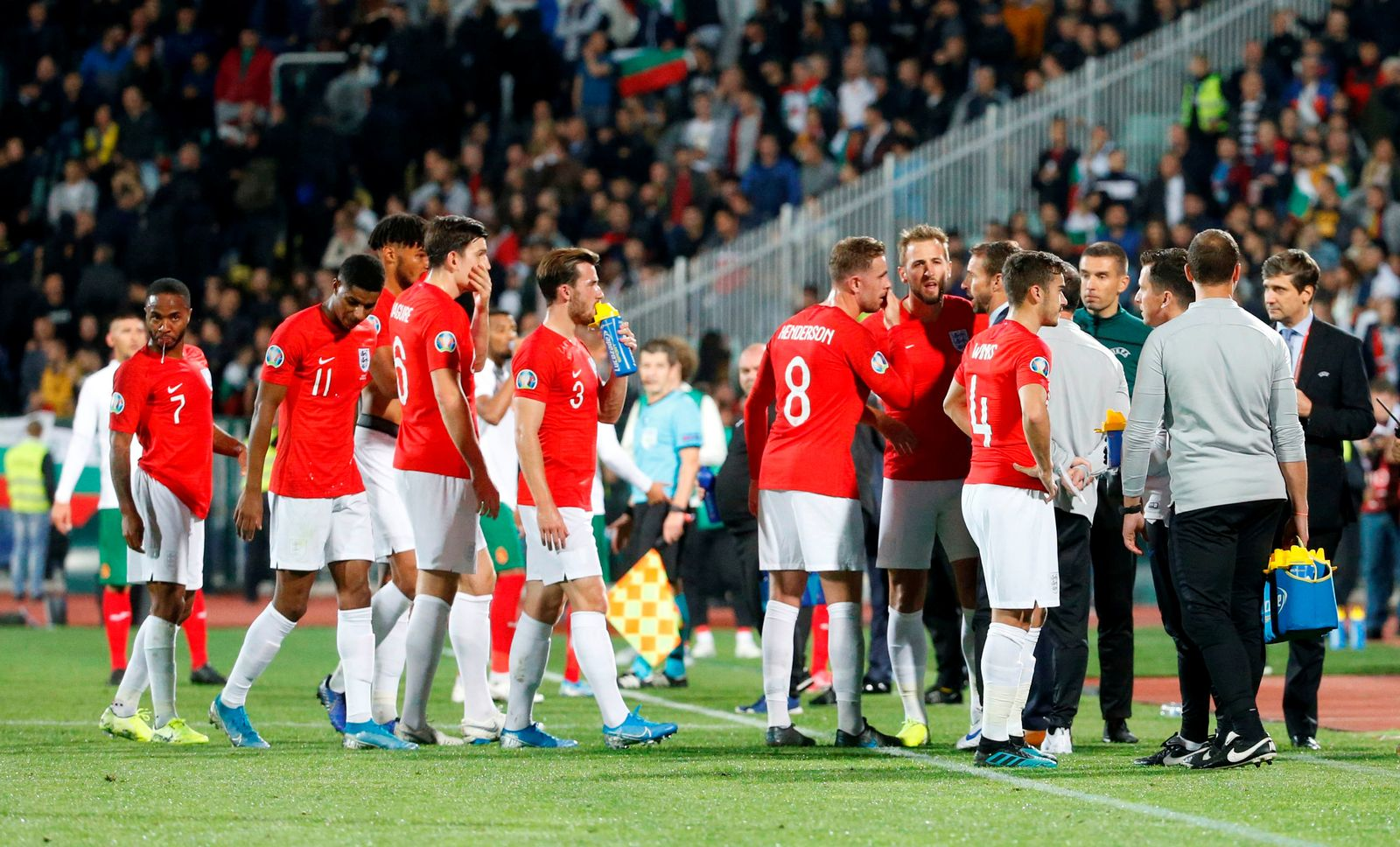 England gegen Bulle