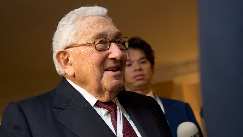 Ex-US-Außenminister Henry Kissinger: Diplomatisches Über-Orakel