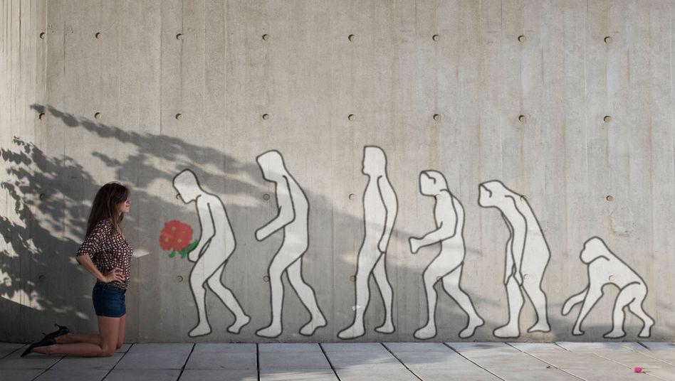 Auch die Menschen der Neuzeit sollen vor den Gesetzen der Evolution nicht gefeit sein