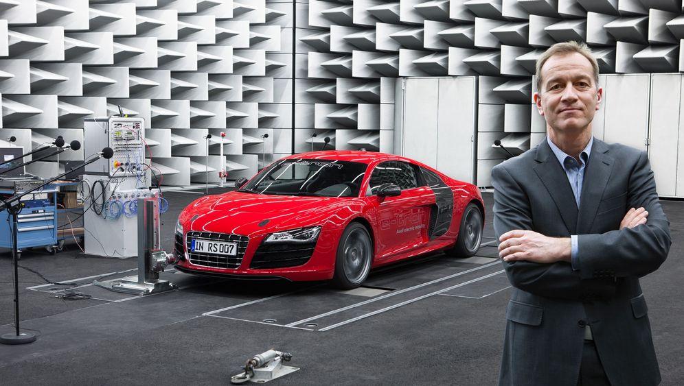 E-Auto-Klang von Audi: Der Sound des R8 Etron
