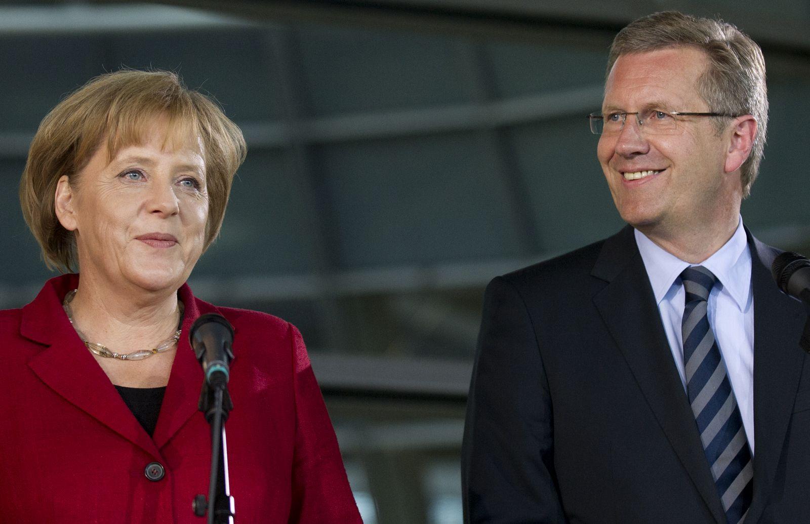 NICHT VERWENDEN Wulff Merkel