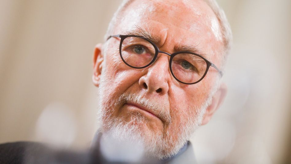 Gerhard Richter im Juni 2018