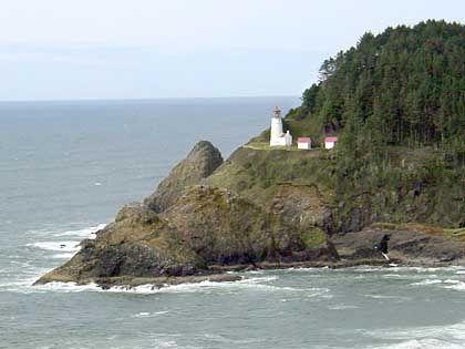 Die Küste Oregons: Ein guter Ausgangspunkt für Walbeobachtungstouren sowie eine Sehenswürdigkeit an sich