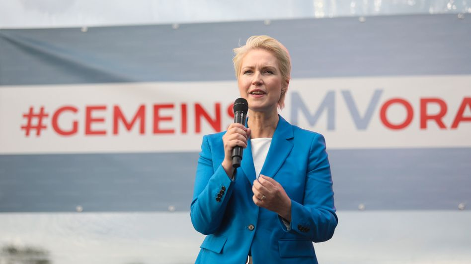 Manuela Schwesig hat wohl gute Chancen, Ministerpräsidentin von Mecklenburg-Vorpommern zu bleiben