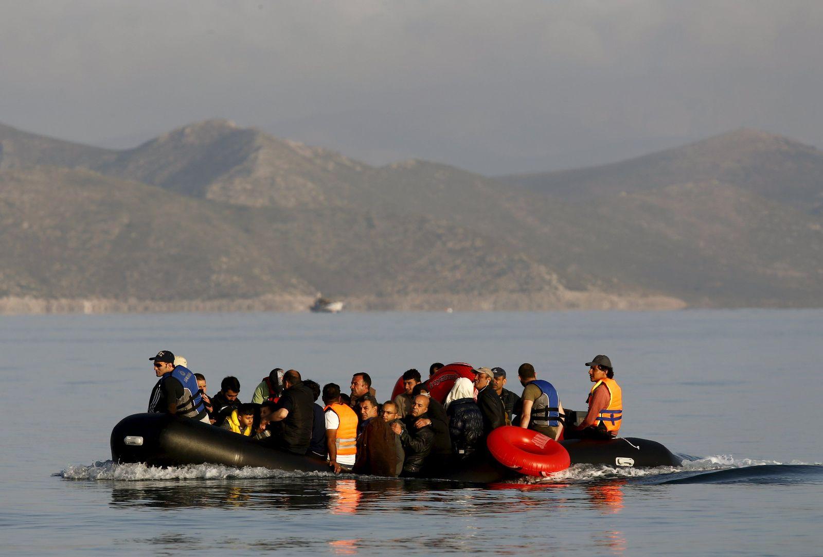 Griechenland Flüchtlinge/