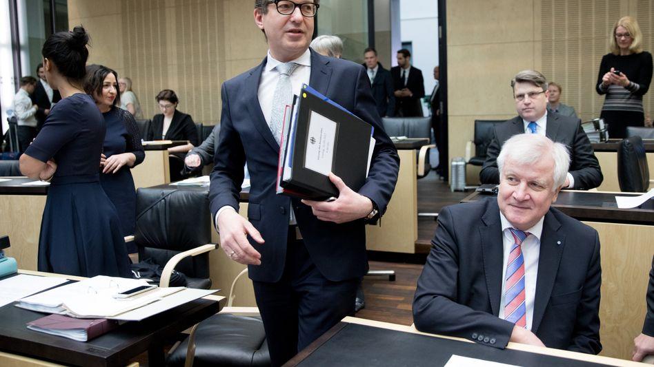Alexander Dobrindt und Horst Seehofer