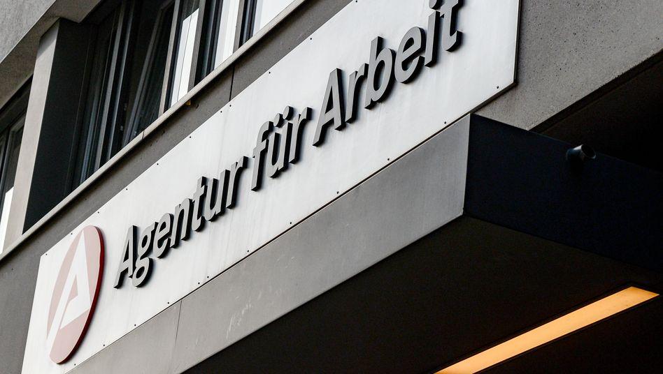 Agentur für Arbeit in der Charlottenstraße in Kreuzberg