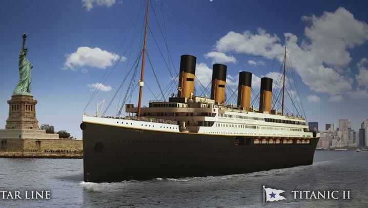 """""""Titanic""""-Nachbau: Millionär legt Simulationen vor"""