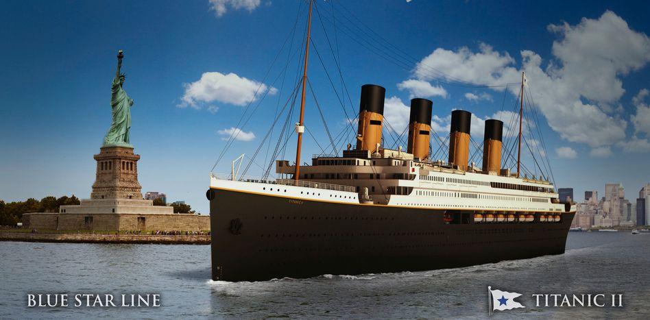 Titanic-II-Modell (Archiv)