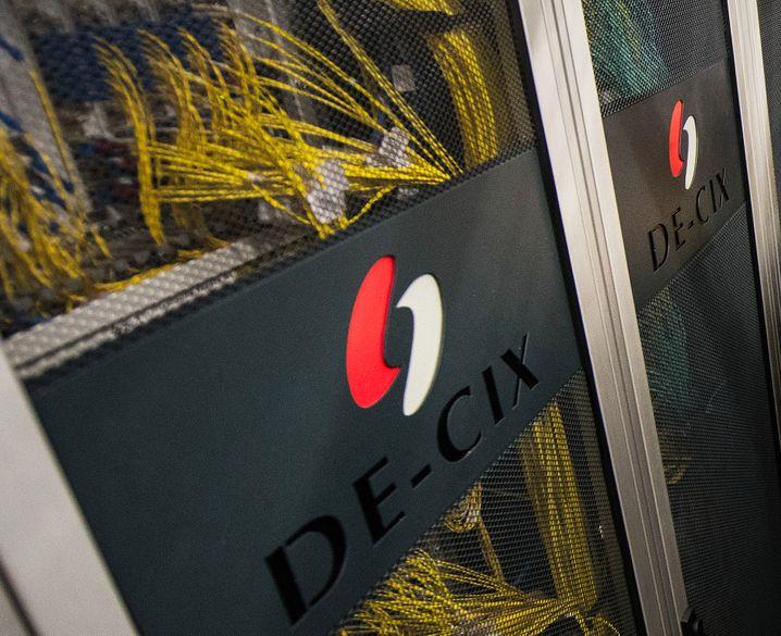 Serverraum der Firma DE-CIX