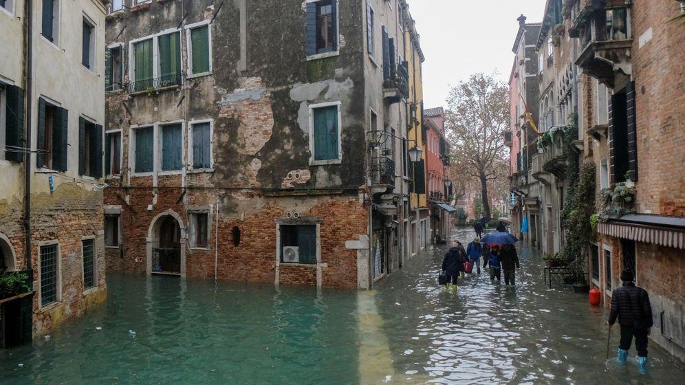 Hochwasser in Venedig: Notstand in der Welterbestadt