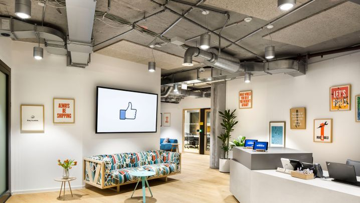 Neue Repräsentanz: So sieht Facebooks Berlin-Büro aus