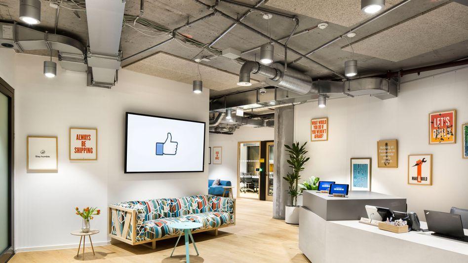 Facebooks neues Büro in Berlin: Der Konzern bemüht sich um Deutschland