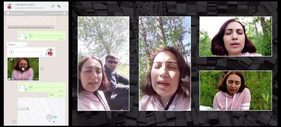 Verzweifelte Nachrichten an den Bruder und die Weltöffentlichkeit: Ayse Erdogan