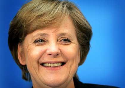 """Angela Merkel: """"Ich fühle mich gut"""""""