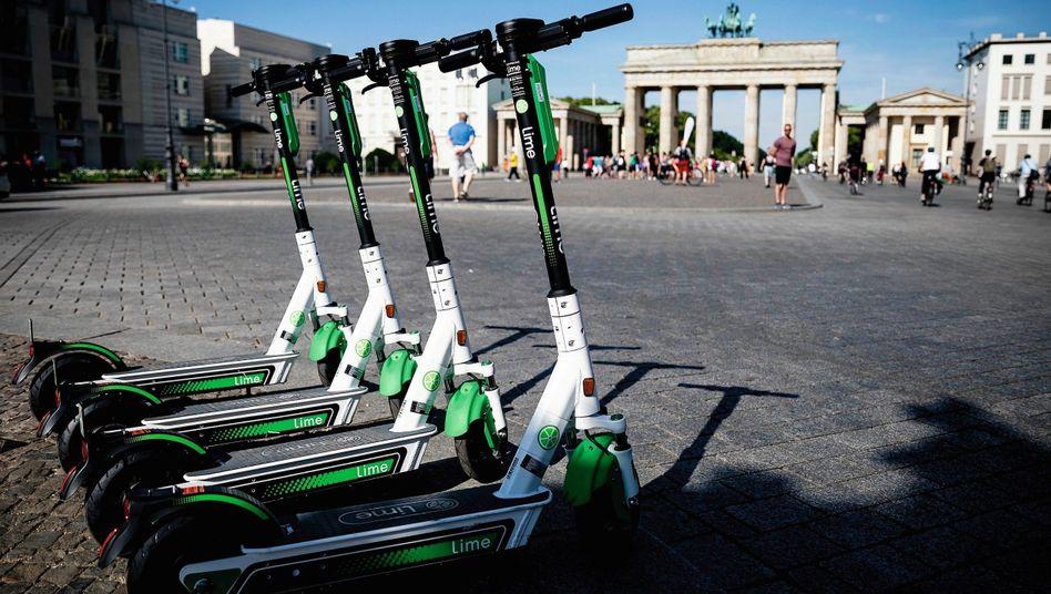 Elektrische Leihroller in Berlin: Eine kleine Revolution