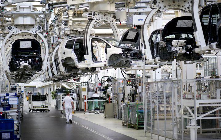 Volkswagen-Werk in Wolfsburg (Archiv)