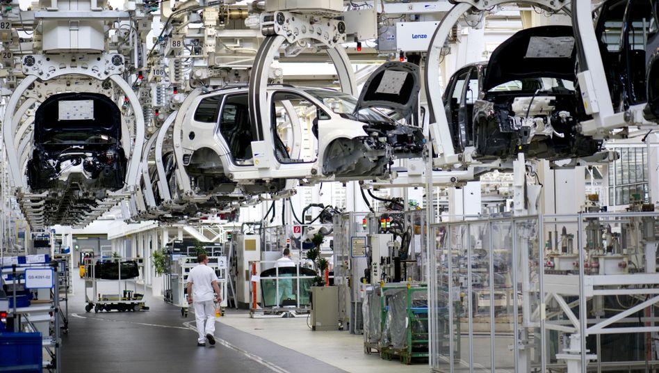 VW-Produktion in Wolfsburg: Fast 70 neue Elektromodelle bis 2028 geplant