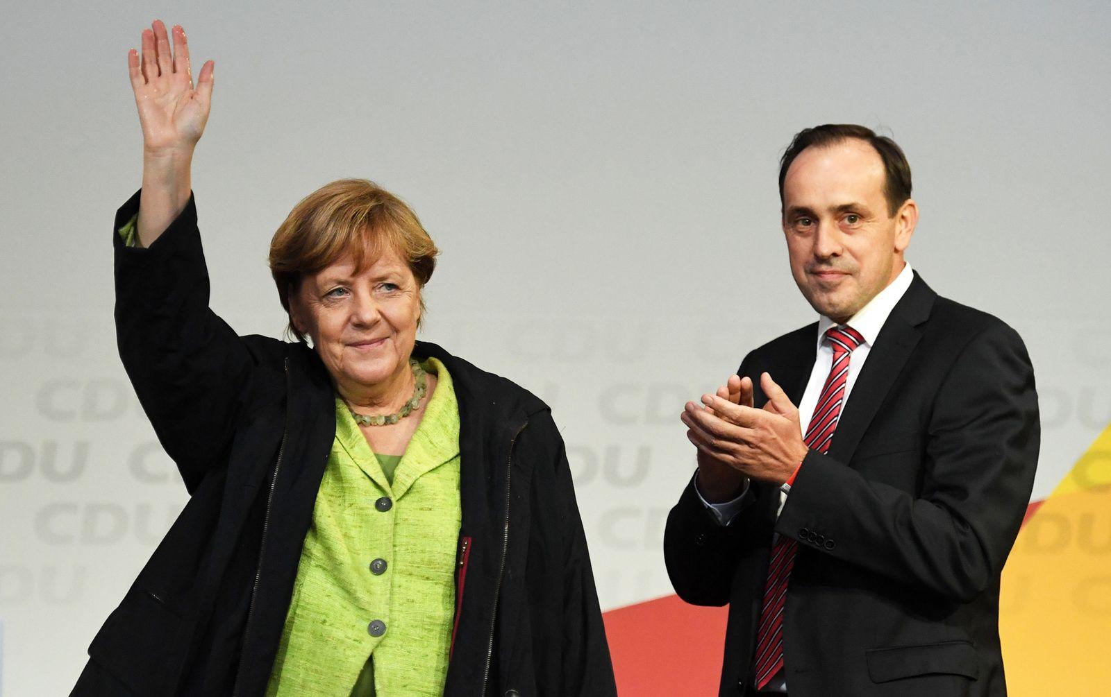 Merkel / Senftleben / CDU
