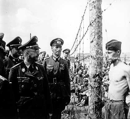 The SS underHeinrich Himmler relied on the Dresdner Bank for private loans.