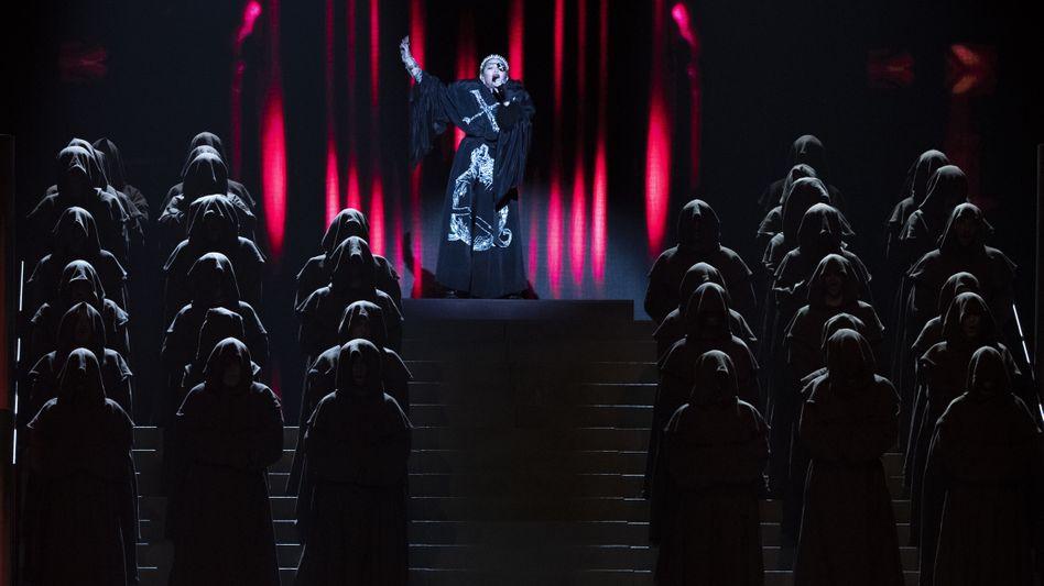 Madonna beim ESC: Noch schauen alle hin, wenn sie etwas macht.