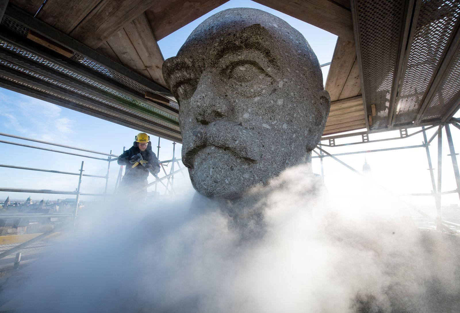 Sanierung und Reinigung des Bismarck-Denkmals