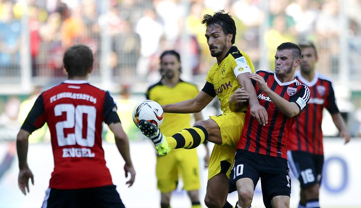 Heimspiel gegen Dortmund: Bisher der einzige Rückschlag