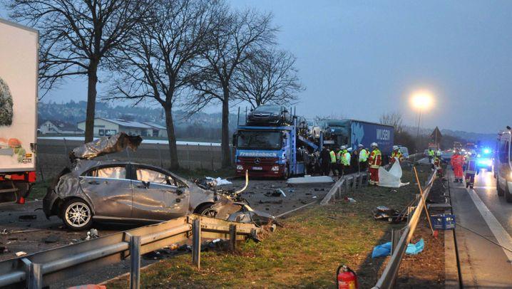 Autounfall bei Filderstadt: Tödliche Verfolgungsfahrt