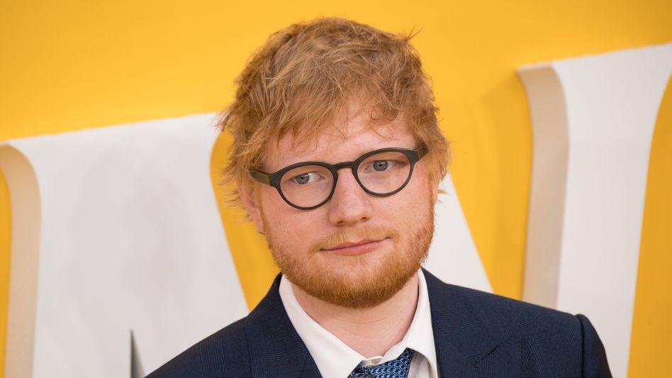 """Ed Sheeran (Archivbild vom Juni 2019): """"Sowohl der Mama als auch dem Baby geht es großartig"""""""