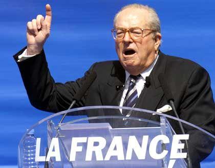 Präsidentschaftskandidat Le Pen: Könnte die 17 Prozent im ersten Wahlgang sogar noch überflügeln