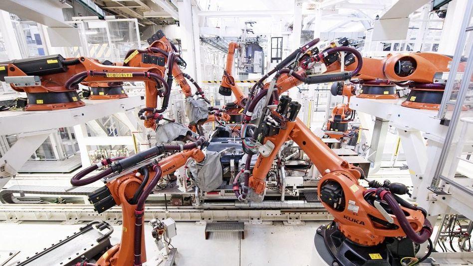Automatisierte Fabrik bei VW in Wolfsburg: »Tektonische Verschiebung in der Arbeitswelt«