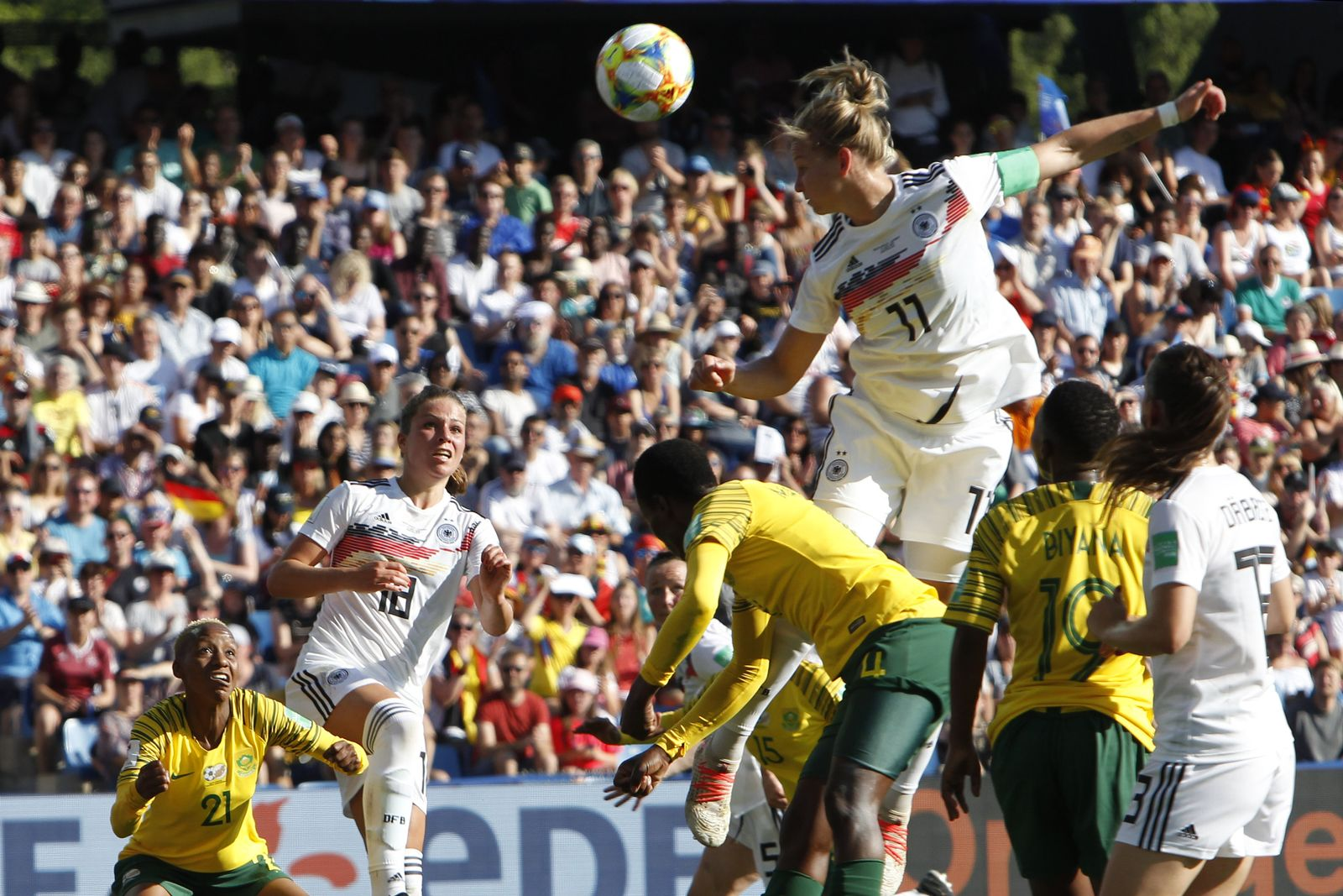 France South Africa Germany WWCup Soccer