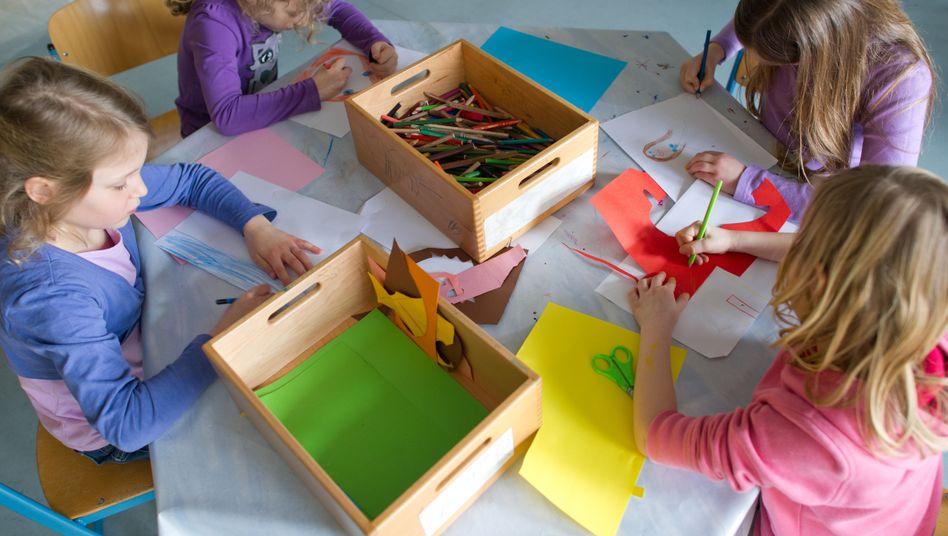 Hessische Kinder in Ganztagsbetreuung: Nachmittags nur malen?
