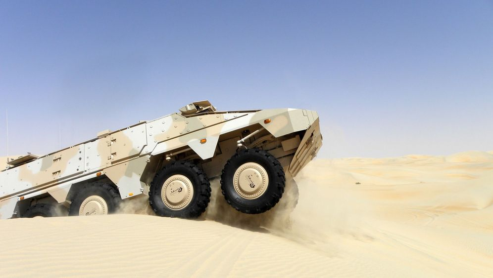 Photo Gallery: The Popular 'Boxer' Personnel Carrier