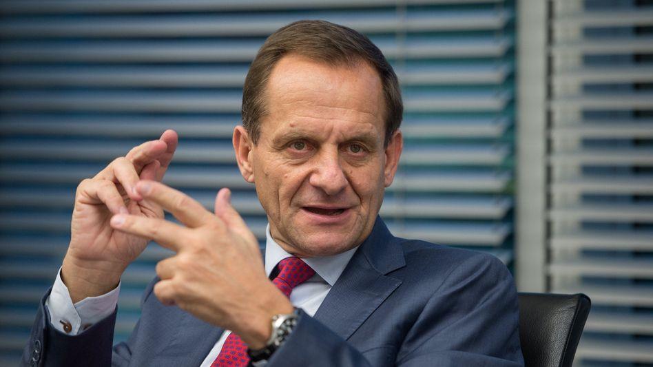 DOSB-Präsident Hörmann: Kritisiert für Anti-Doping-Gesetz