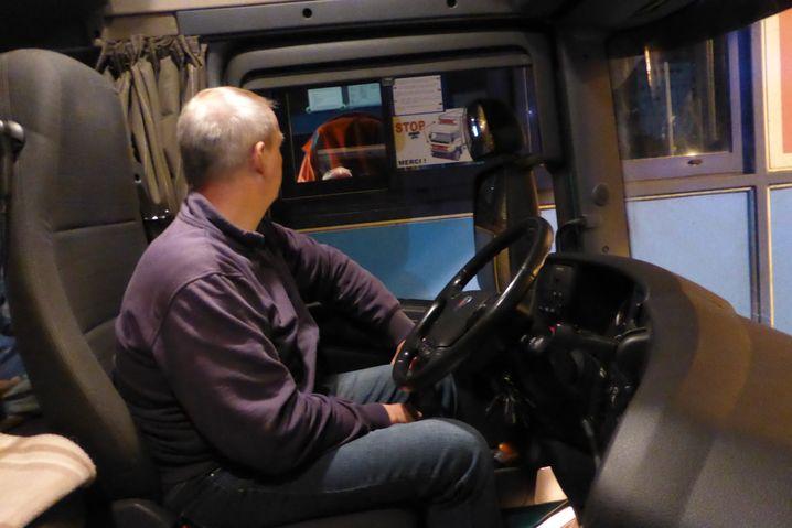 Joostberends in Calais: Alles ist auf einen stetigen Verkehrsfluss eingestellt