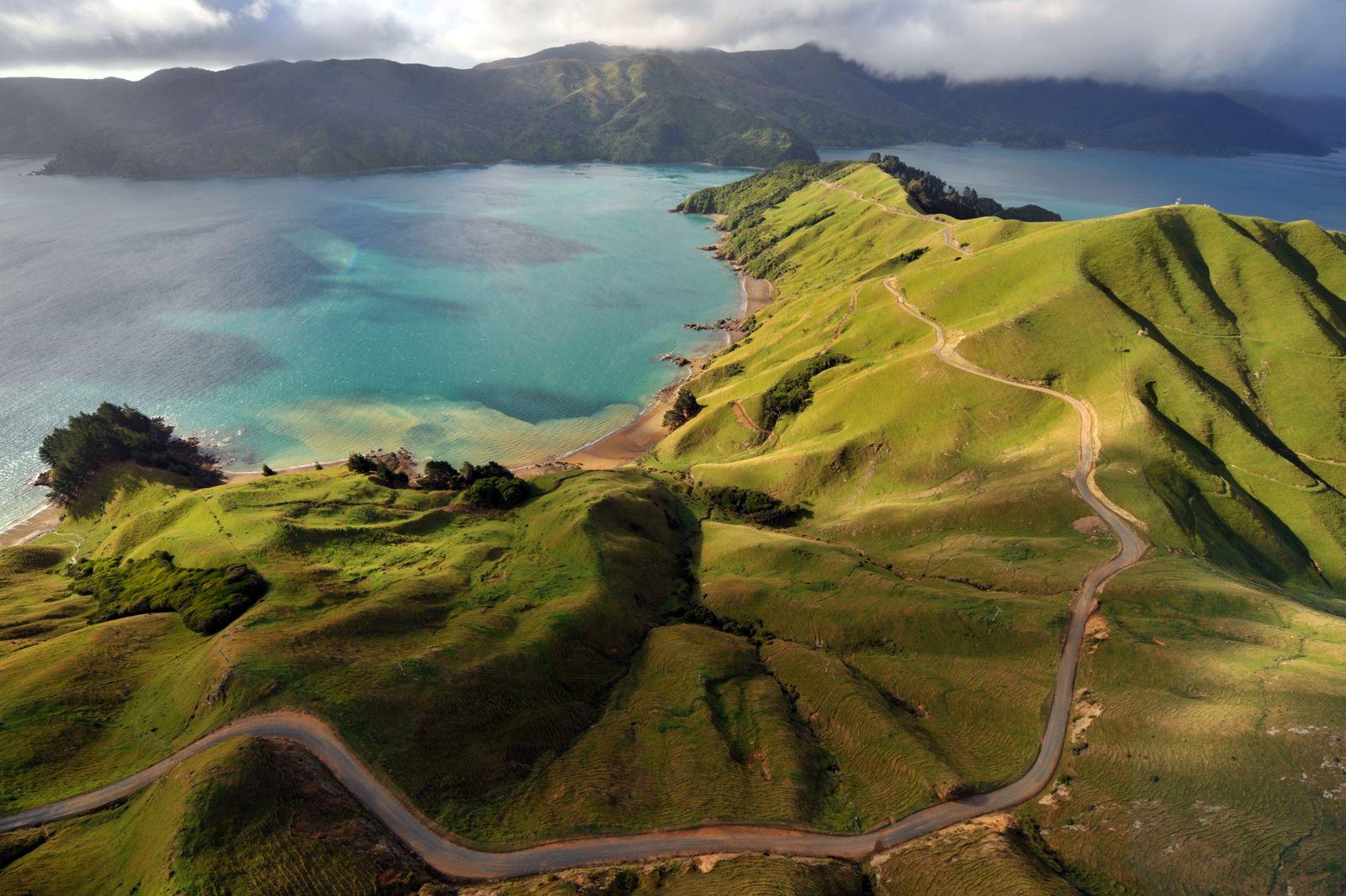 EINMALIGE VERWENDUNG Neuseeland
