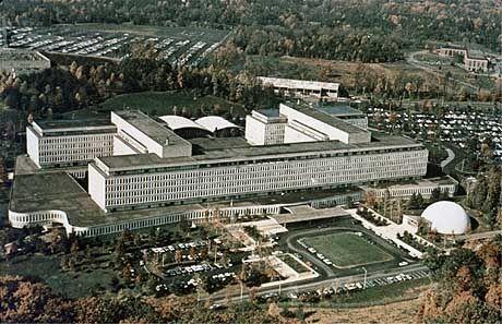 CIA headquarters in Langley, Virginia.
