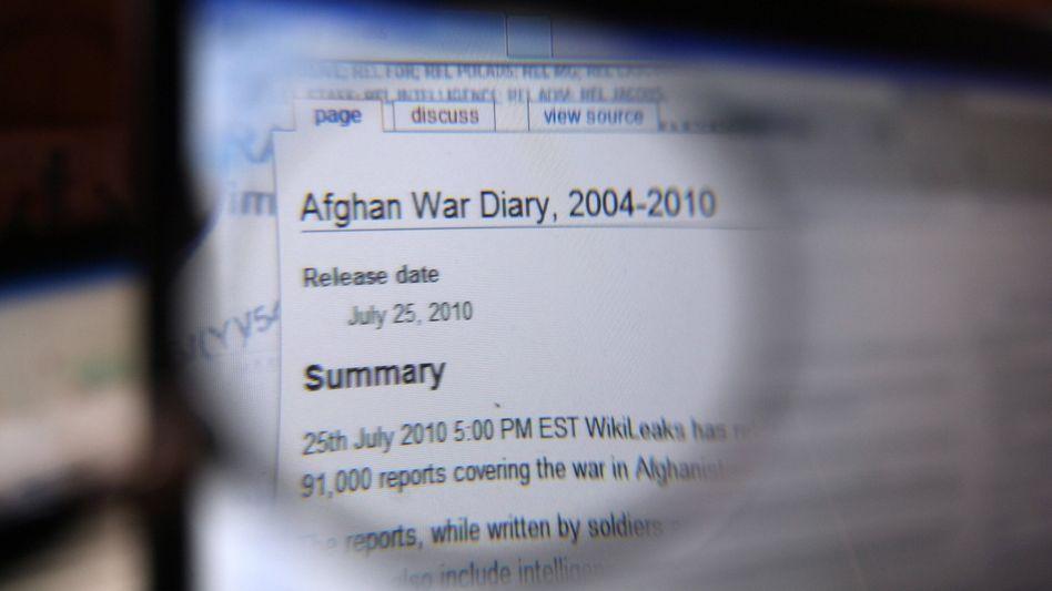 WikiLeaks-Ausschnitt der Afghanistan-Daten: Für die US-Regierung politisch hochpeinlich
