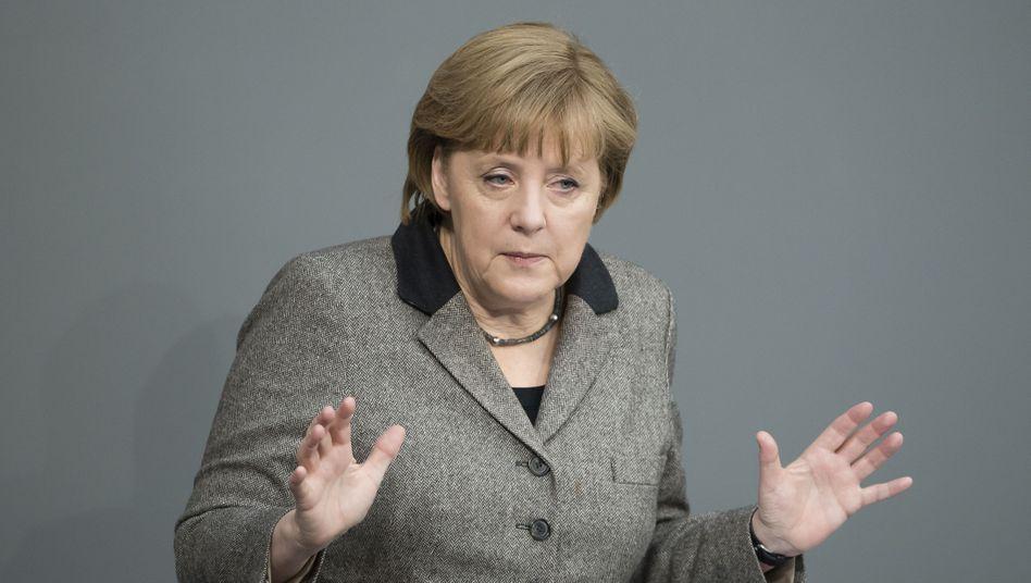 """Angela Merkel: """"Neigung zum Nichthandeln, Noch-nicht-Handeln, Später-Handeln"""""""